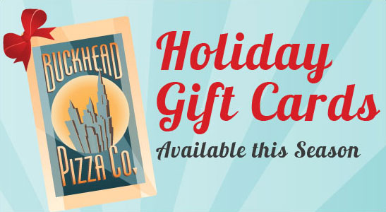 Holiday Gift Cards Available this Season